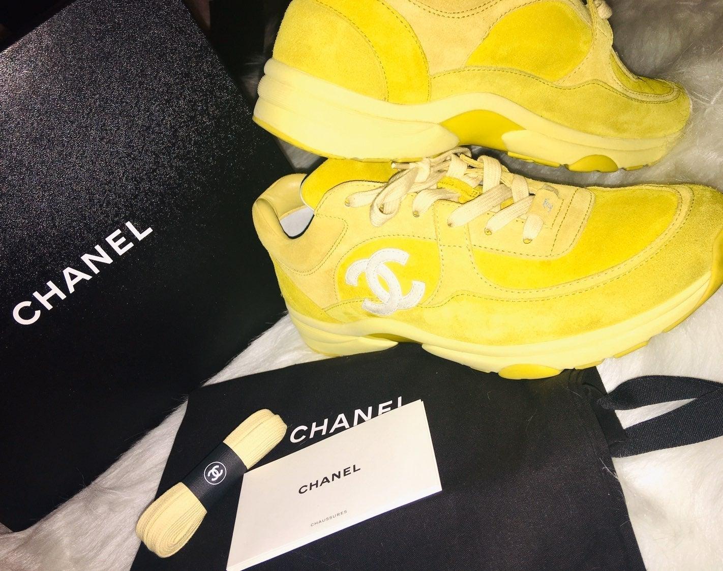 Chanel CC Logo Sneakers
