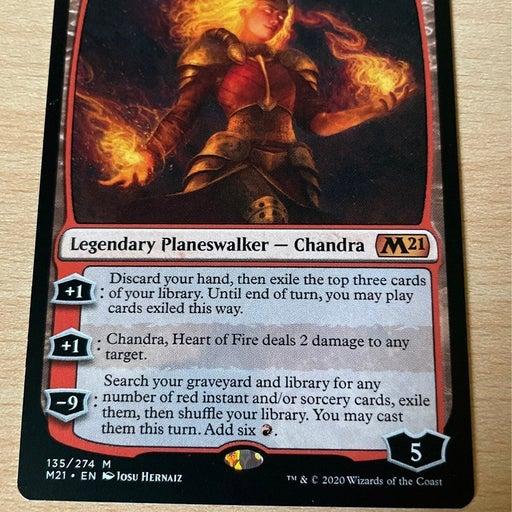 MTG Chandra, Heart of Fire