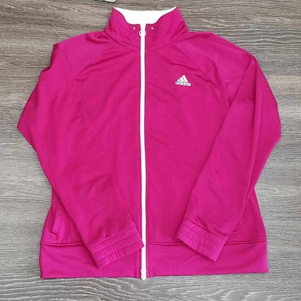 Adidas Pink Jacket size large
