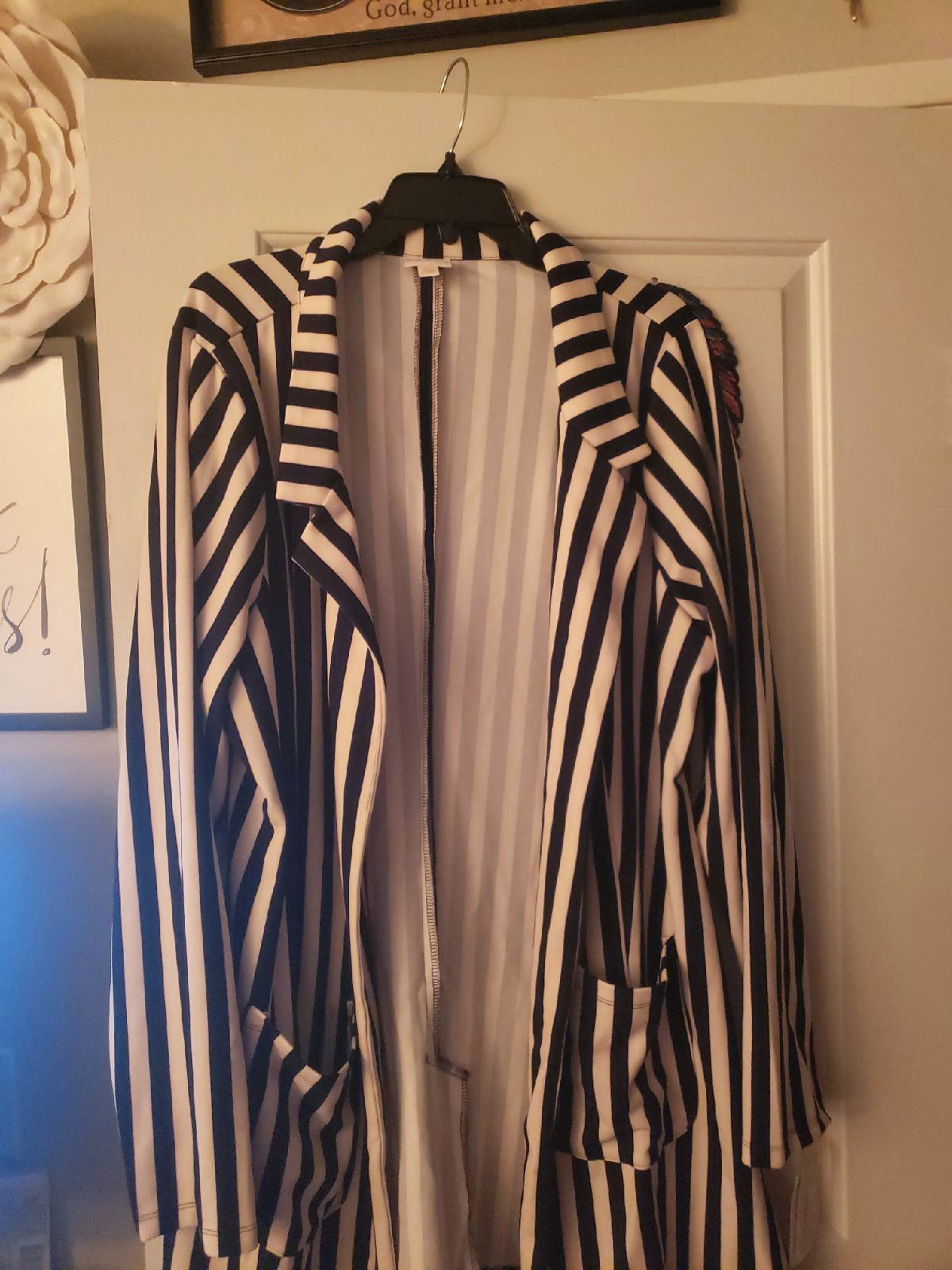Lularoe Stripped Gwen 3X