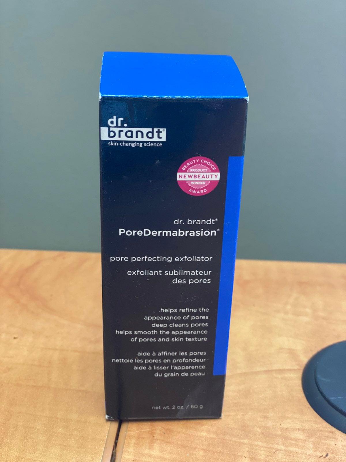 Dr. brandt pore dermabrasion exfoliator