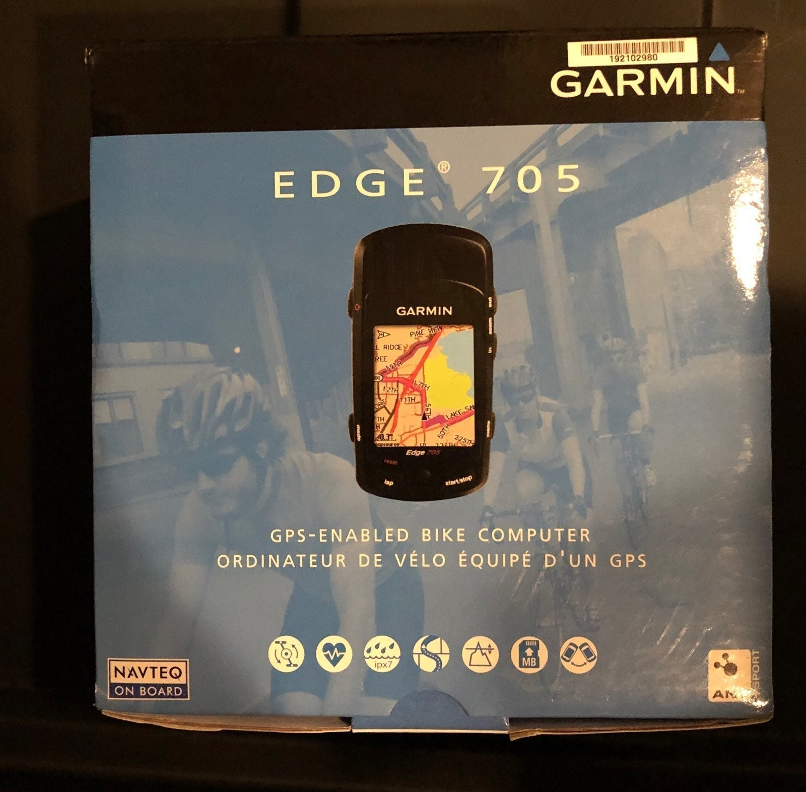Garmon Edge 705 plus all sensors
