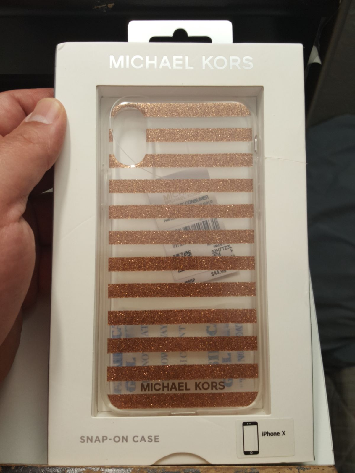 """Case Michael Kors for iphone x/xs 5.8"""""""