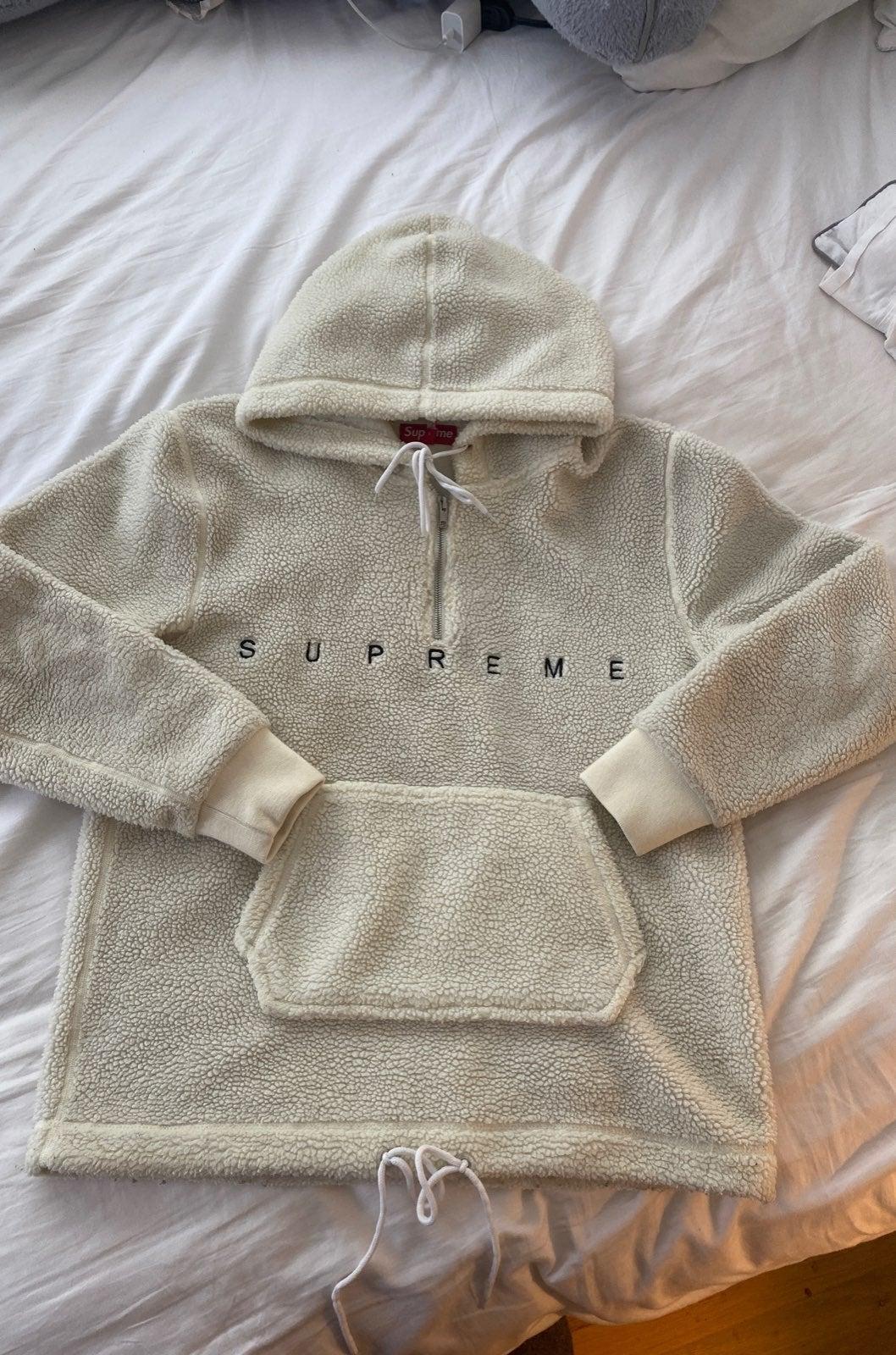 Supreme Fleece Sherpa Pullover