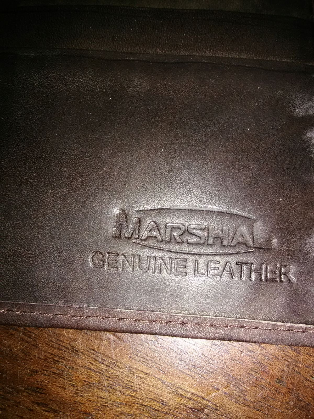 Marshal Genuine Leather Wallet