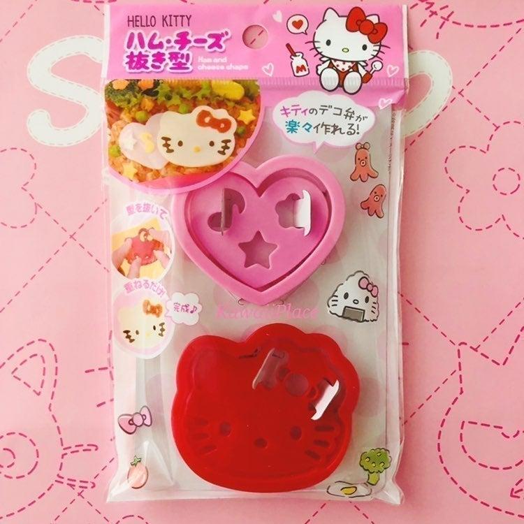 Hello Kitty Ham & Cheese mold cutter