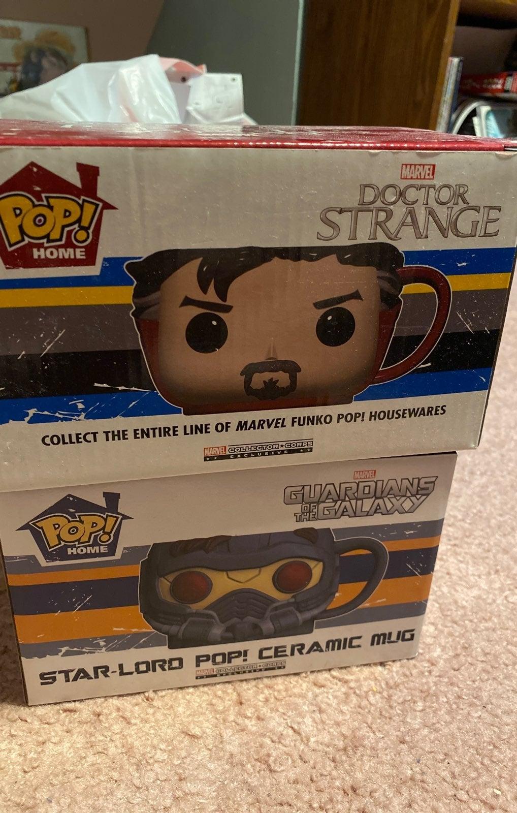 Marvel collector corps funko mugs