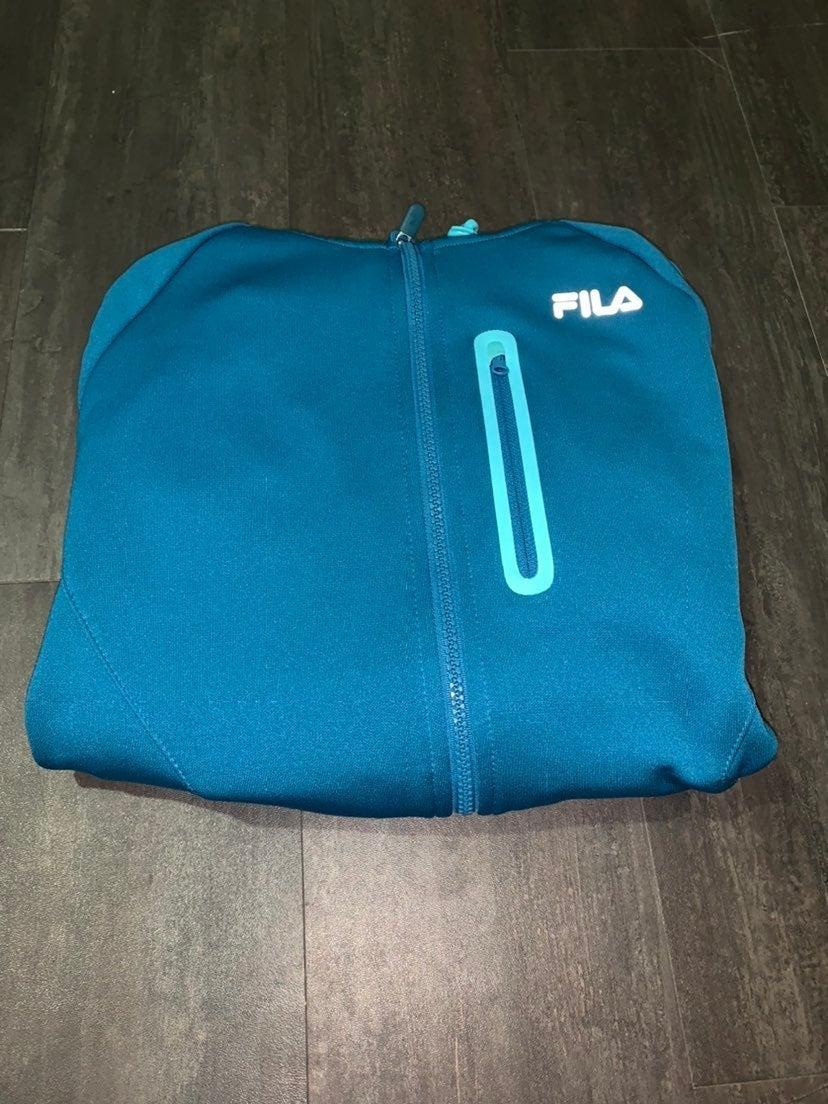 Blue Fila Sport Jacket