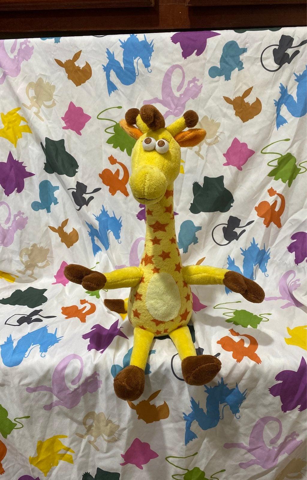 geoffrey giraffe plush