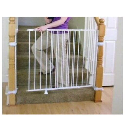 Regalo Safety Gate Top of Stair Extra Ta