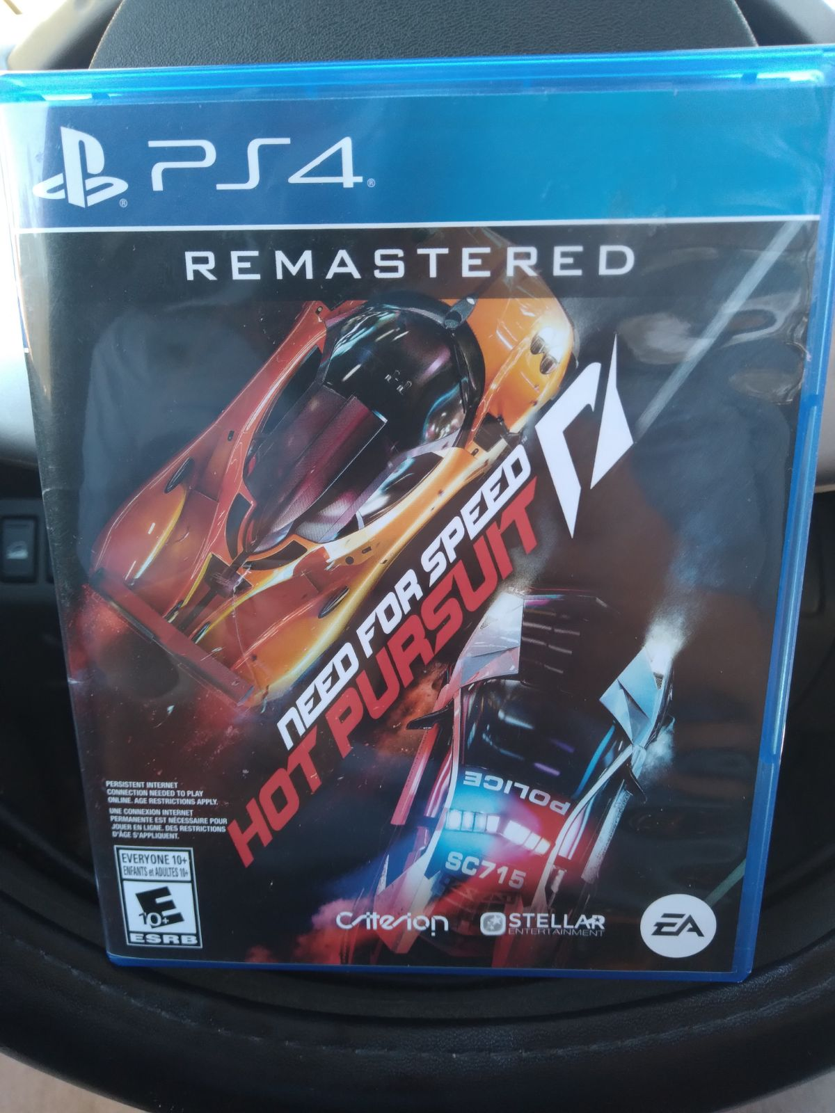 Need for Speed Hot Pursuit Remastered PS