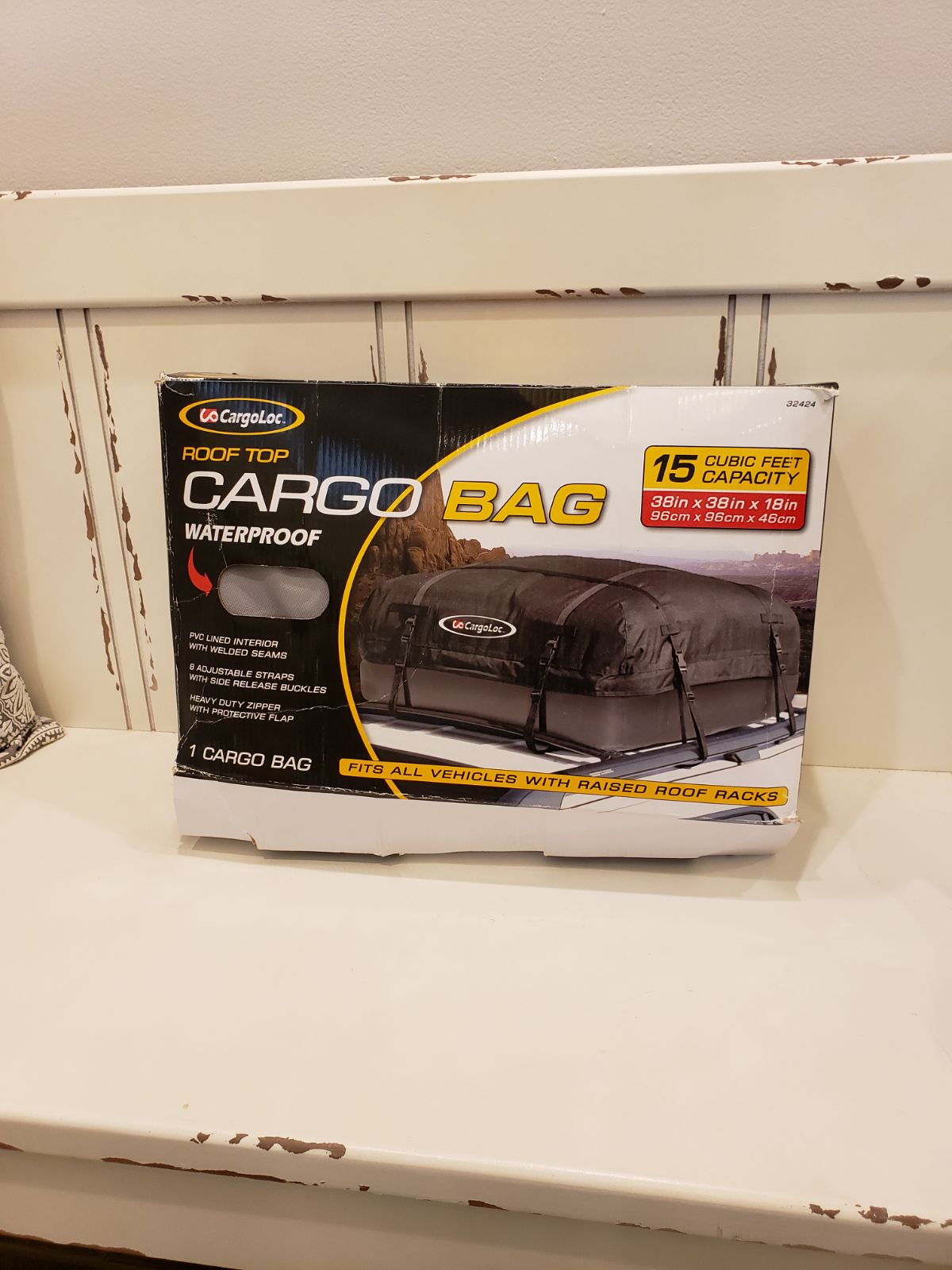 CargoLoc Rooftop Cargo BAG 15 CUBIC FT