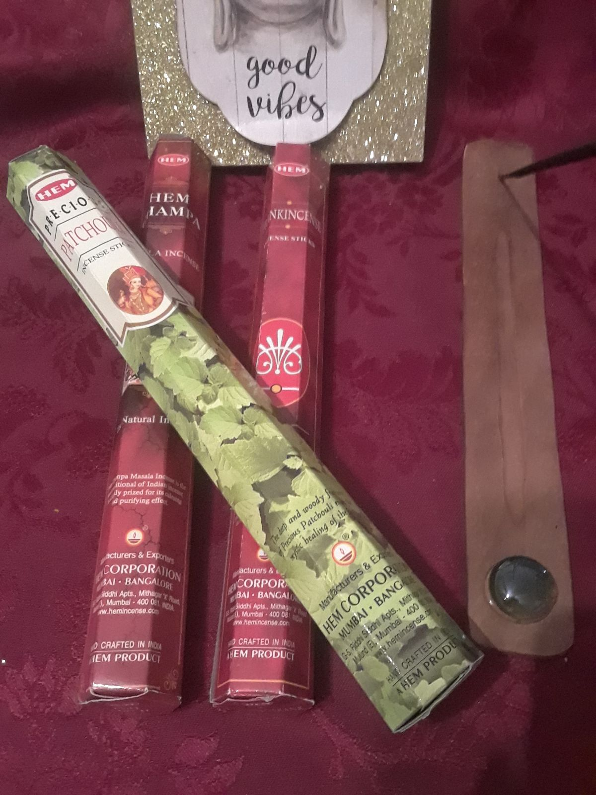 Incense 55 STICKS HANDCRAFTED 3 Pack