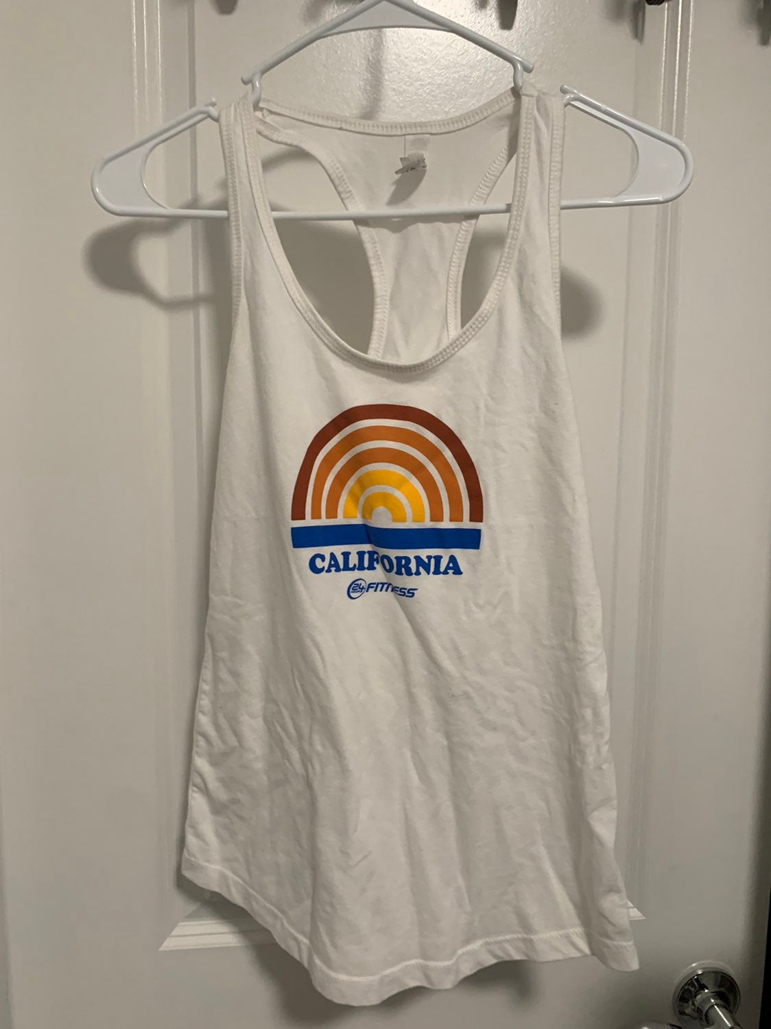 24hr Fitness Workout Tank Top