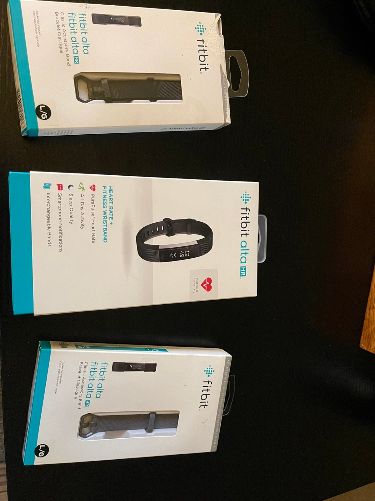 Fitbit alta hr fitness trackers