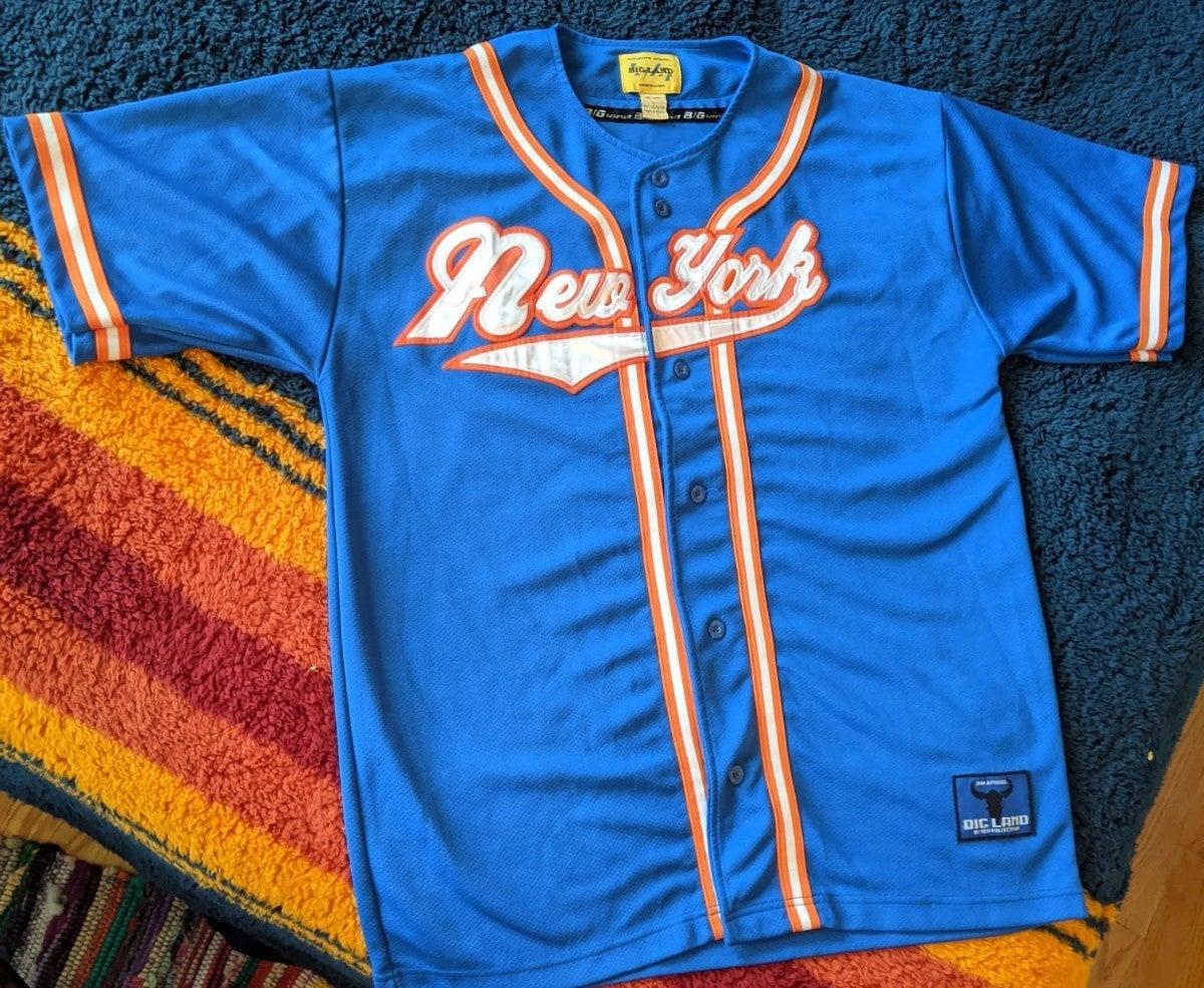 Vintage New York Baseball Jersey
