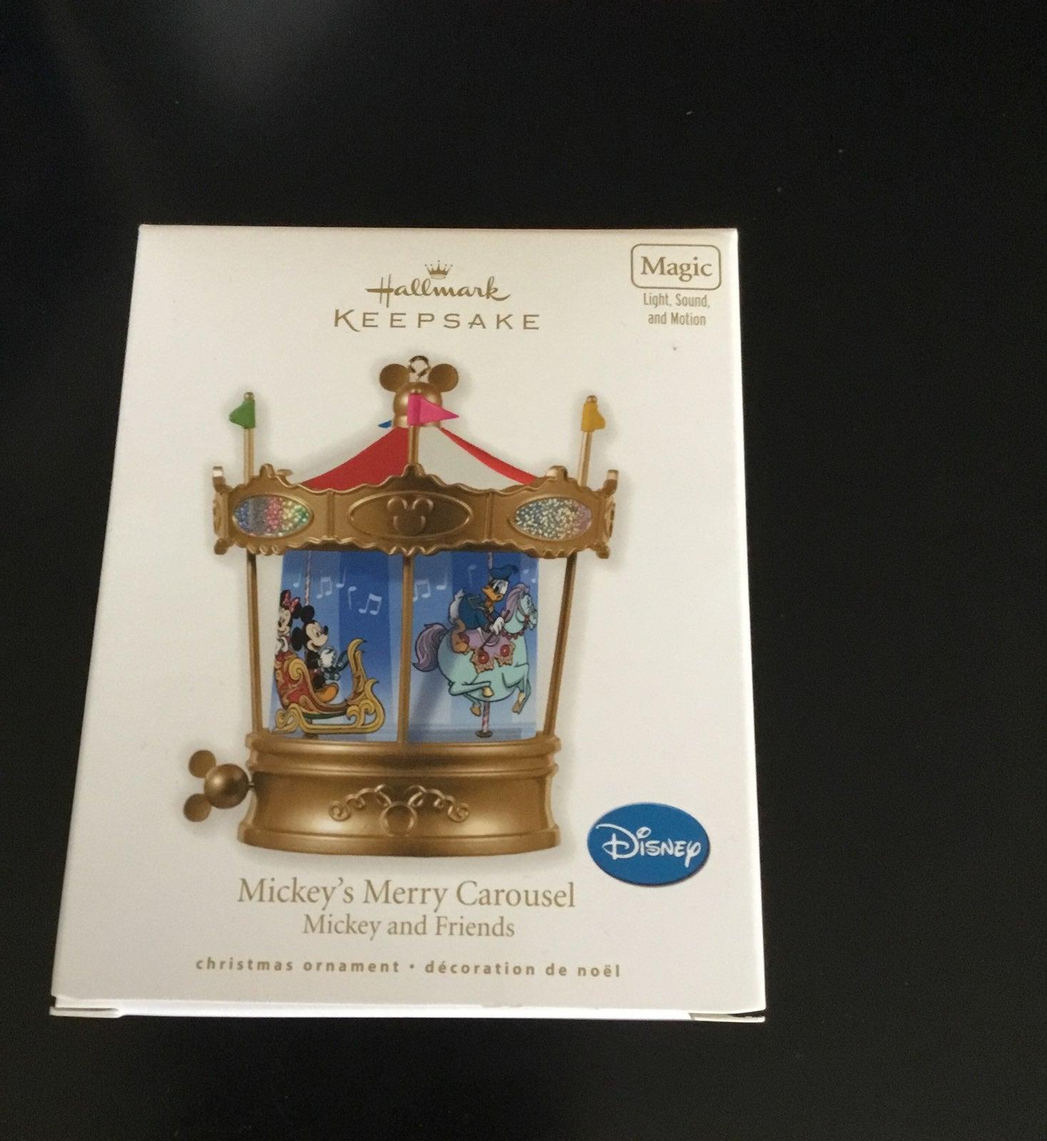 Hallmark Disney Mickey's Merry Carousel