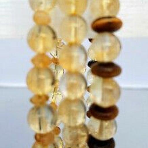 Citrine Bracelet Set of 3 + Free Gift