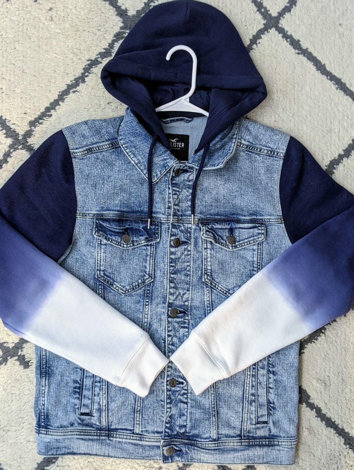 Hollister Ombre Hybrid Denim Jacket