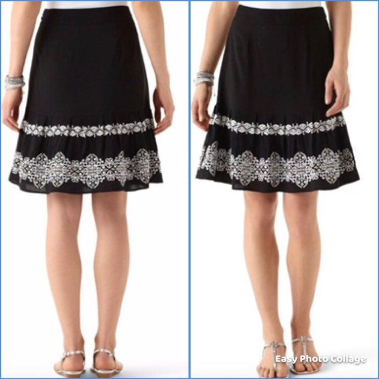 White House Black Market Flippy Skirt