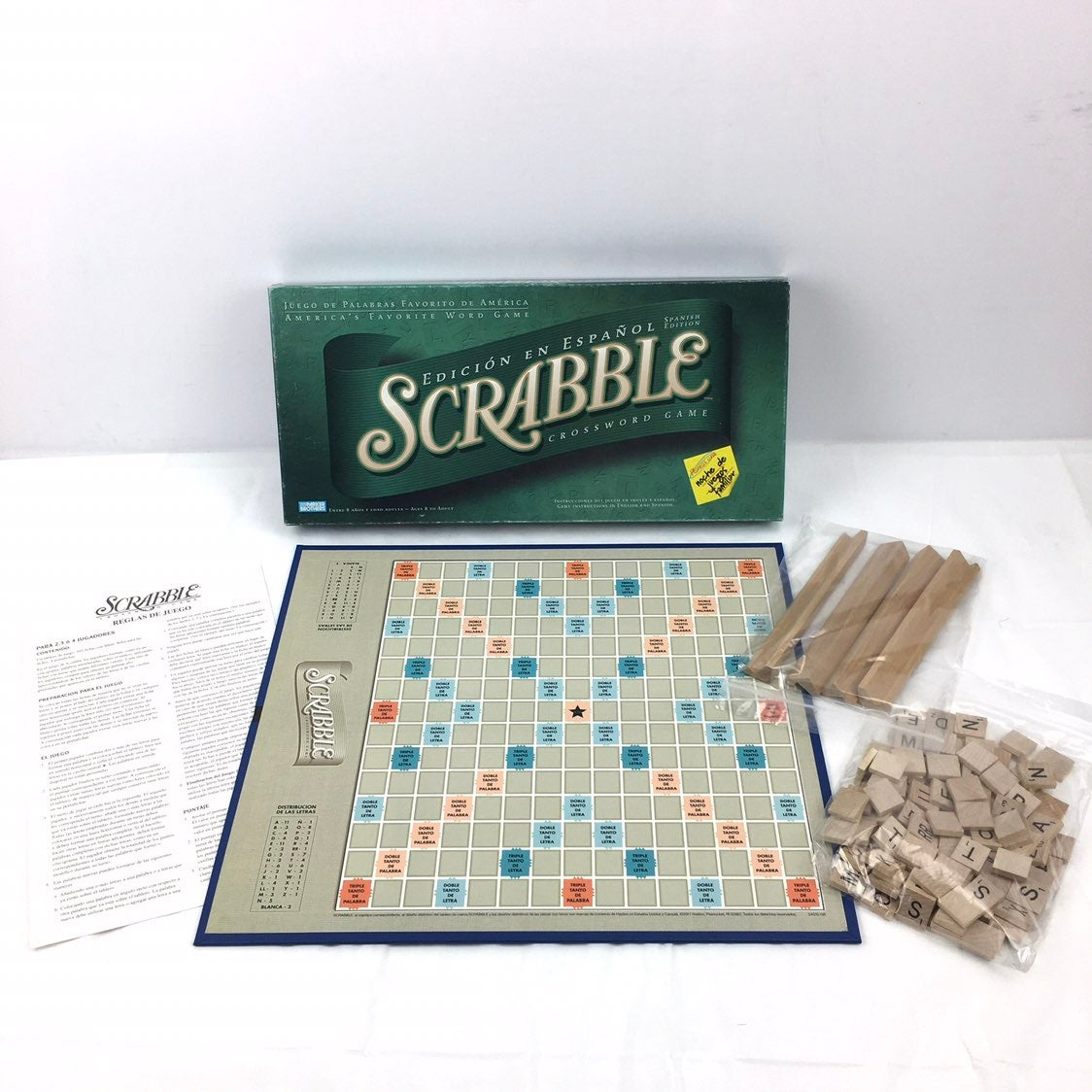 Scrabble Spanish Edición En Espanol