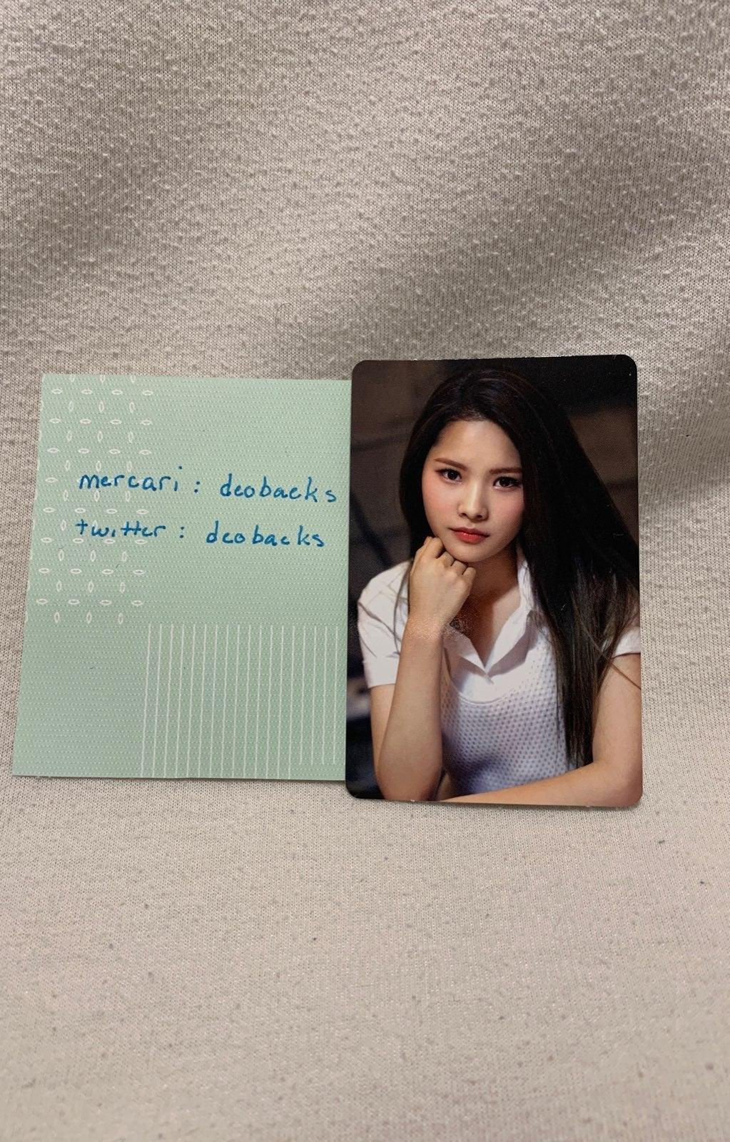 Weki Meki Rina Photocard