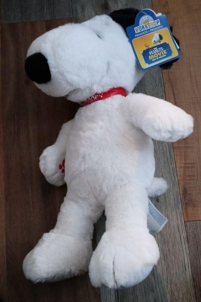 Peanuts Movie Snoopy Plush Build A Bear