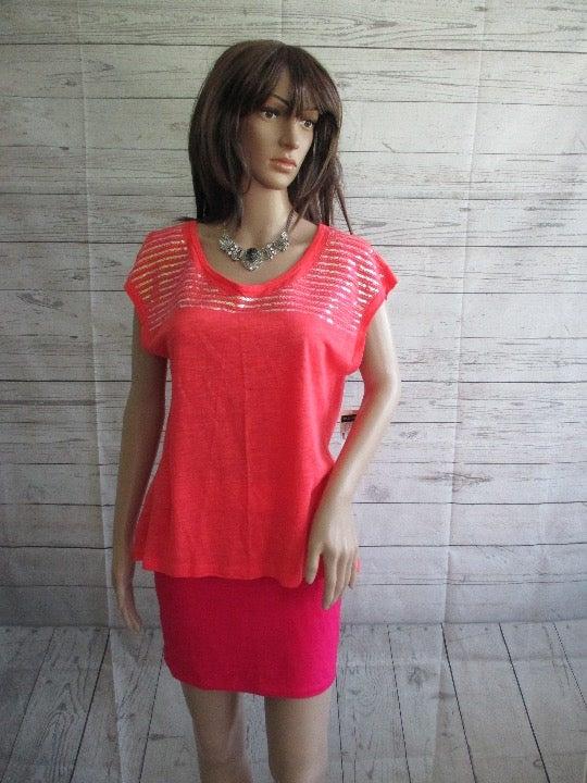 NWT - BAY STUDIO knit top - sz PL