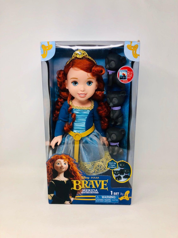 Disney Princess Brave Merida with Bears