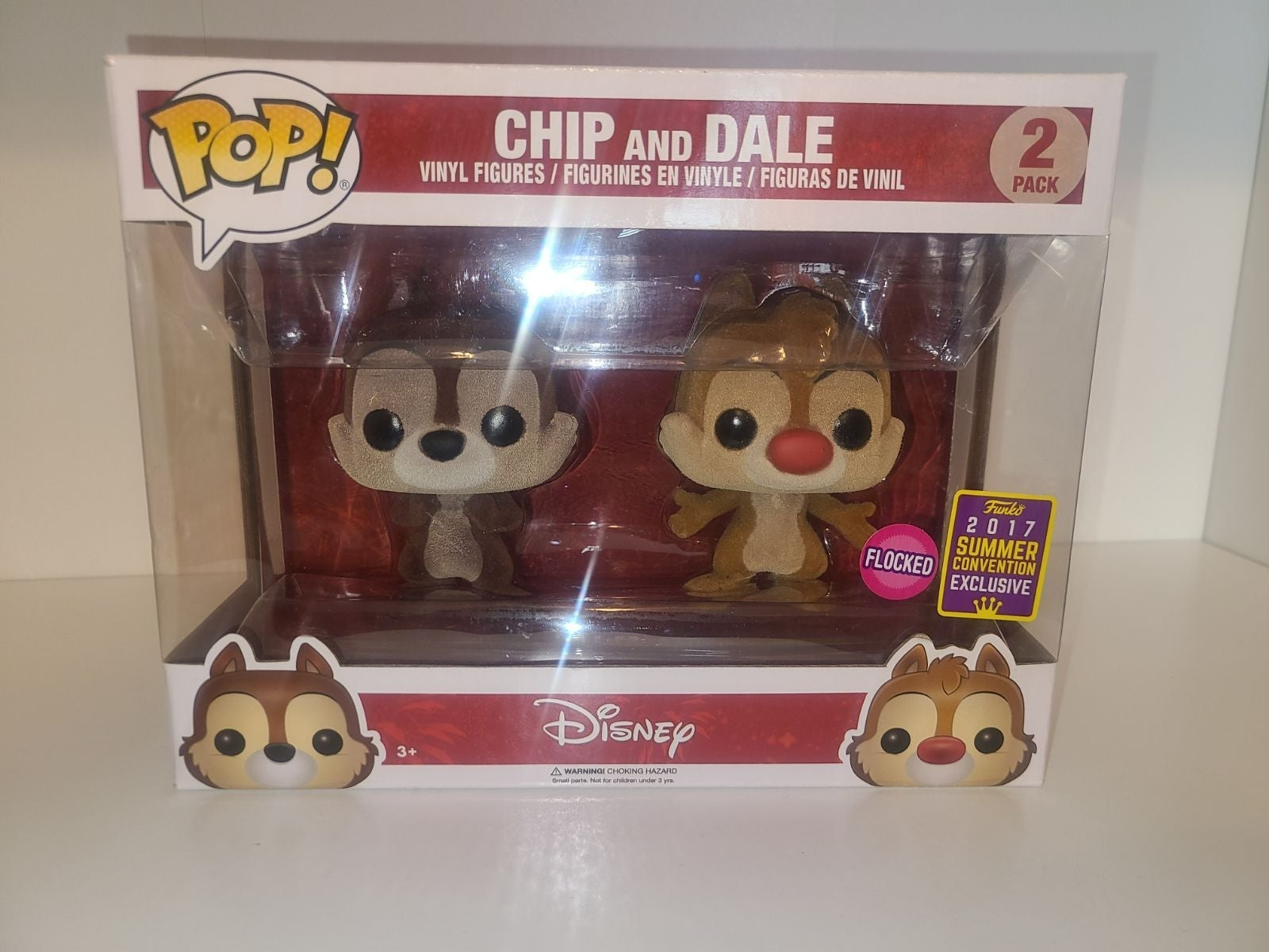 Chip and Dale Flocked 2017 Smer Conventi