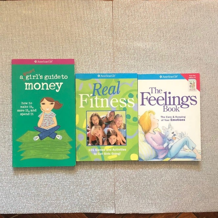 American Girl Self-Help Book Set of 3!