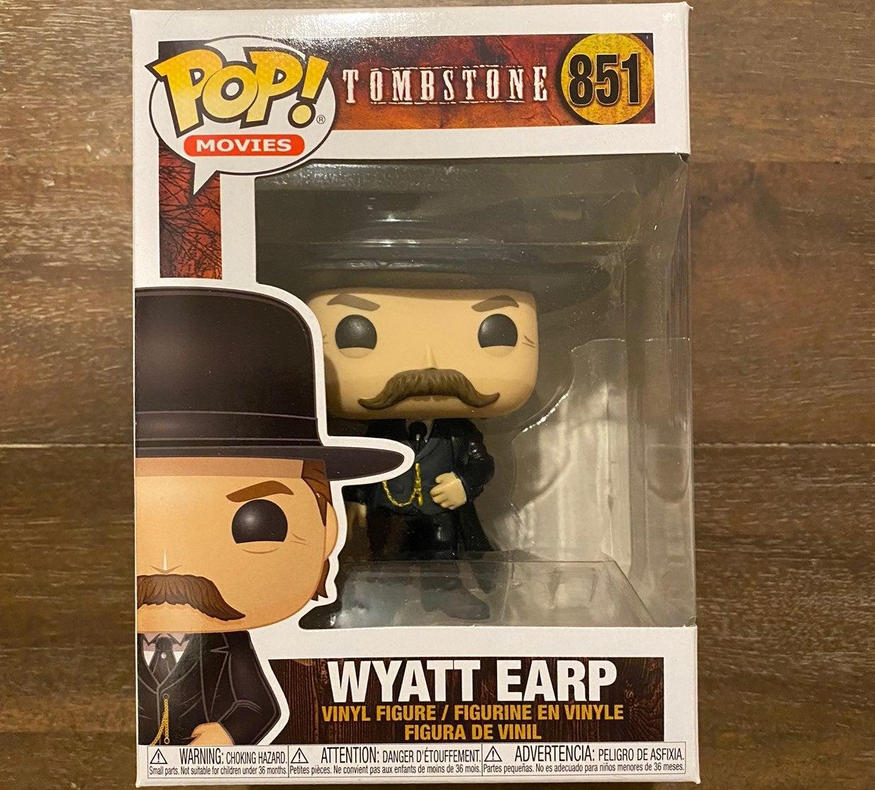 Funko Pop Tombstone Wyatt Earp Movies