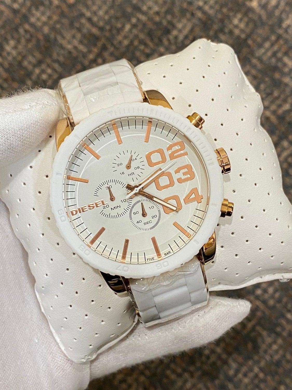 NIB White Diesel Watch