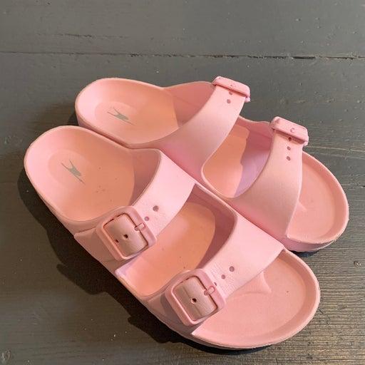 Crane Footbed Size 8 Pink Sandals Buckle