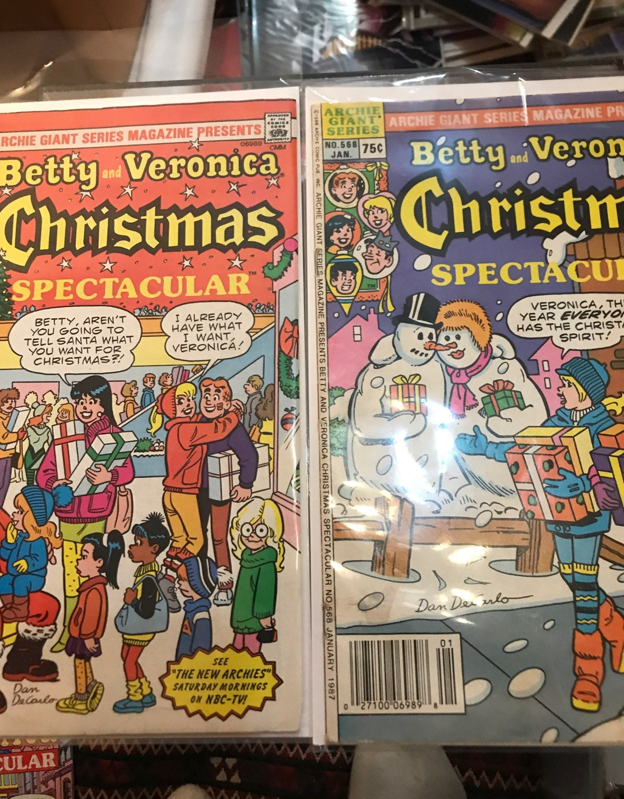 Betty and Veronica XMas issues