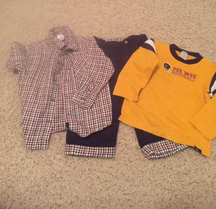 Gymboree 3 piece outfit.  Size 2T