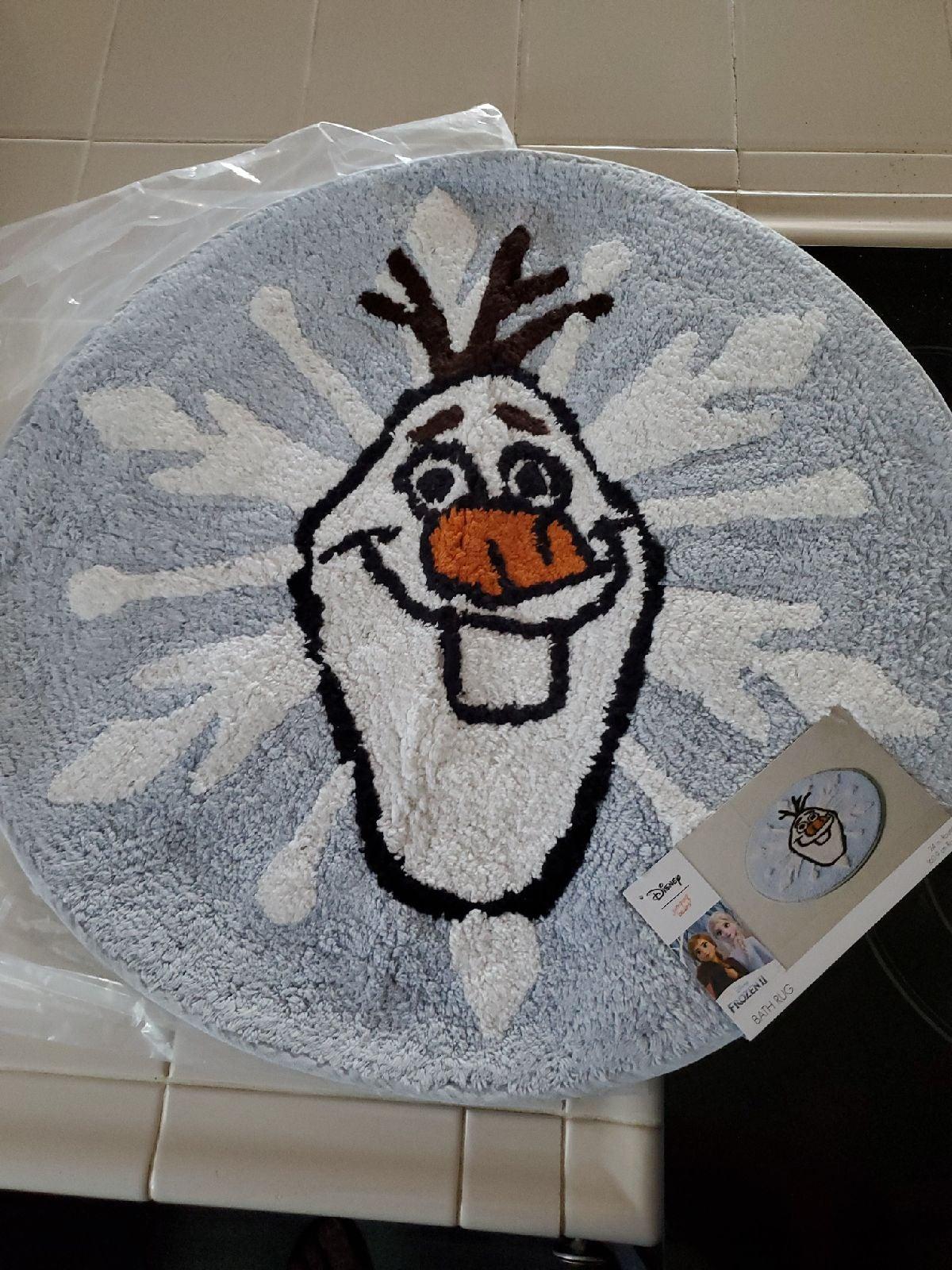 Olaf Disney rug
