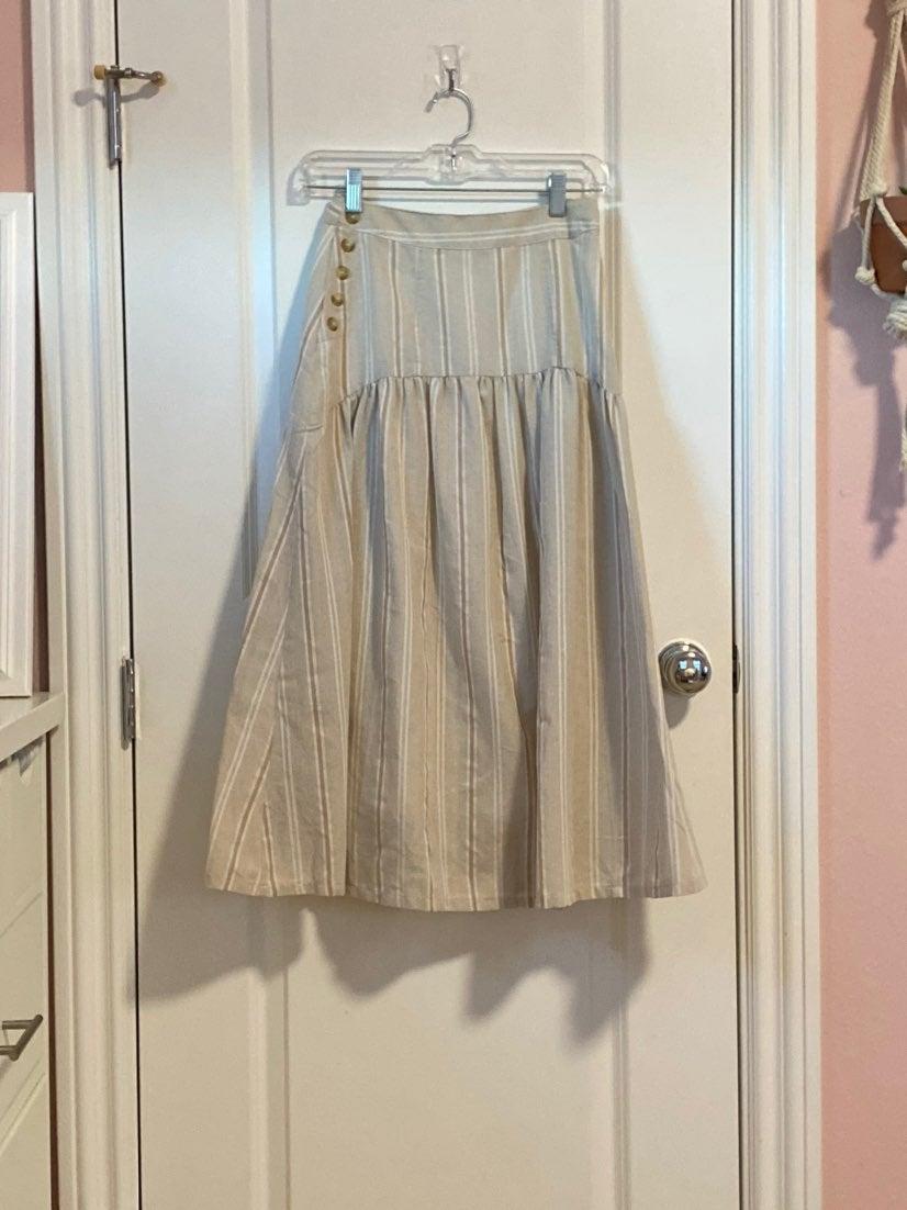 Anthropologie maxi skirt