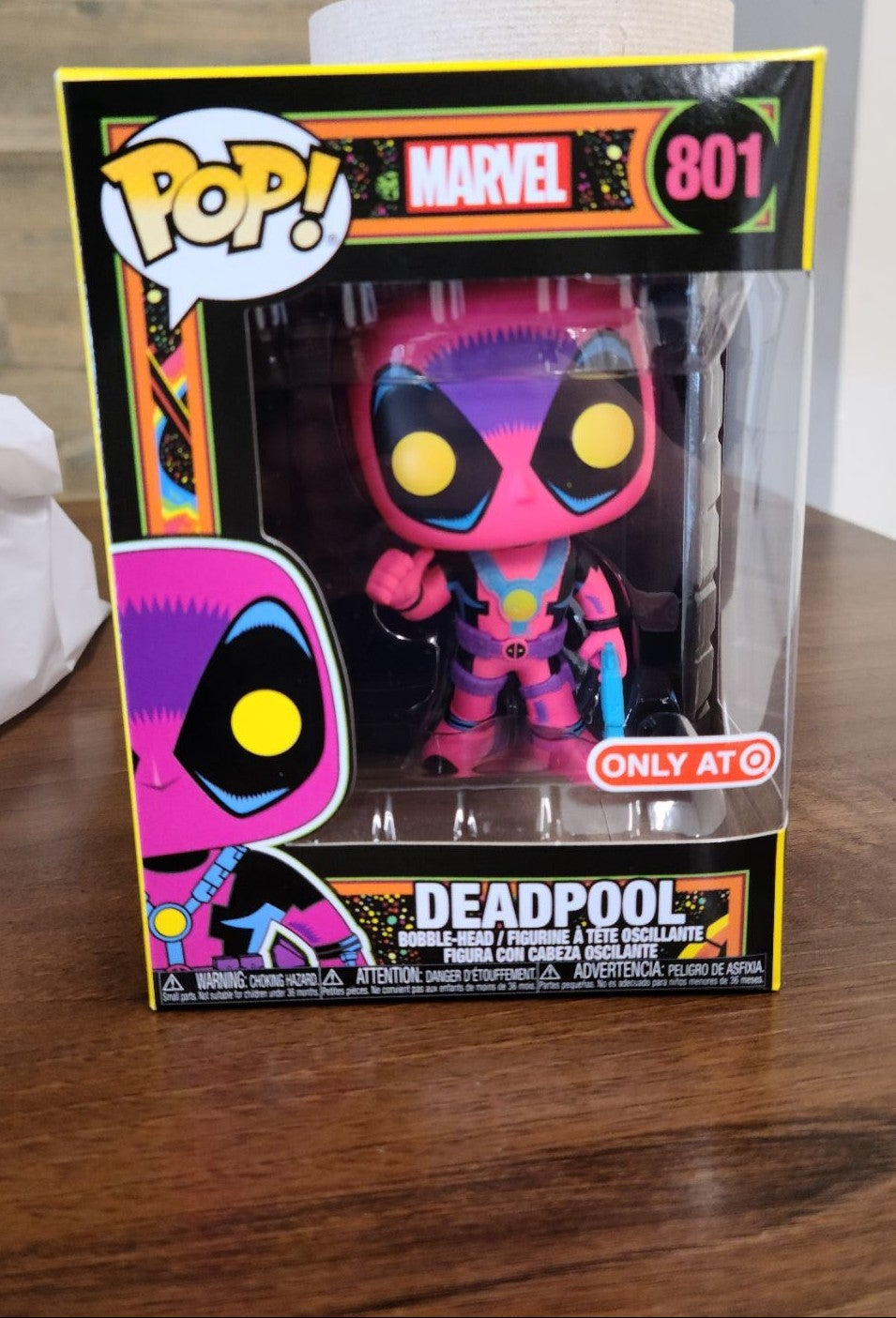 Deadpool Blacklight Funko