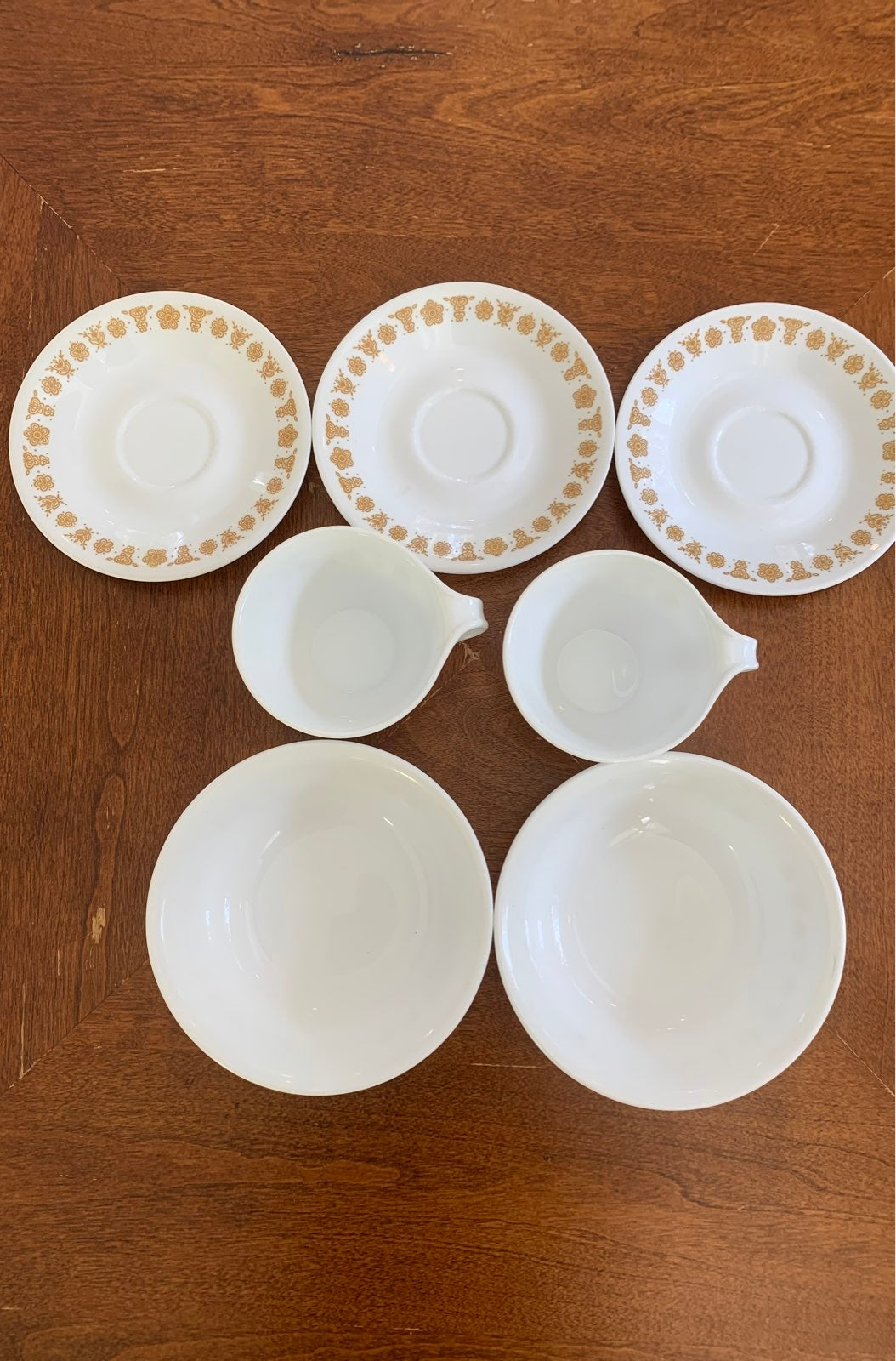 corelle dishes butterfly pattern