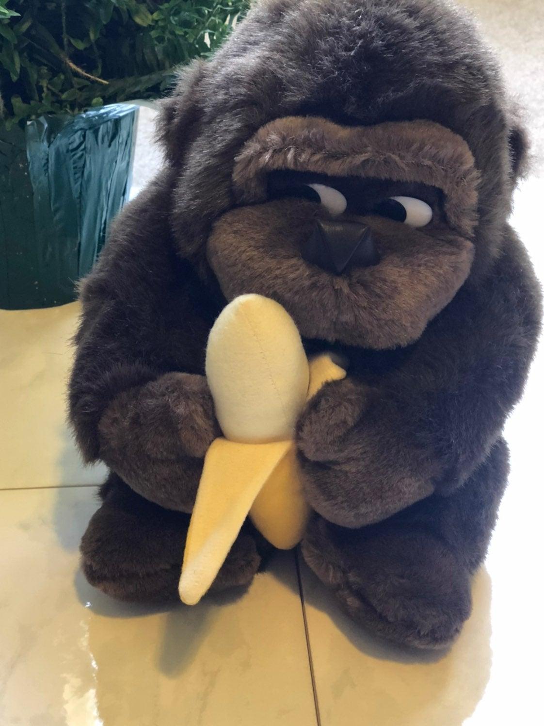 Stuffed animal gorilla
