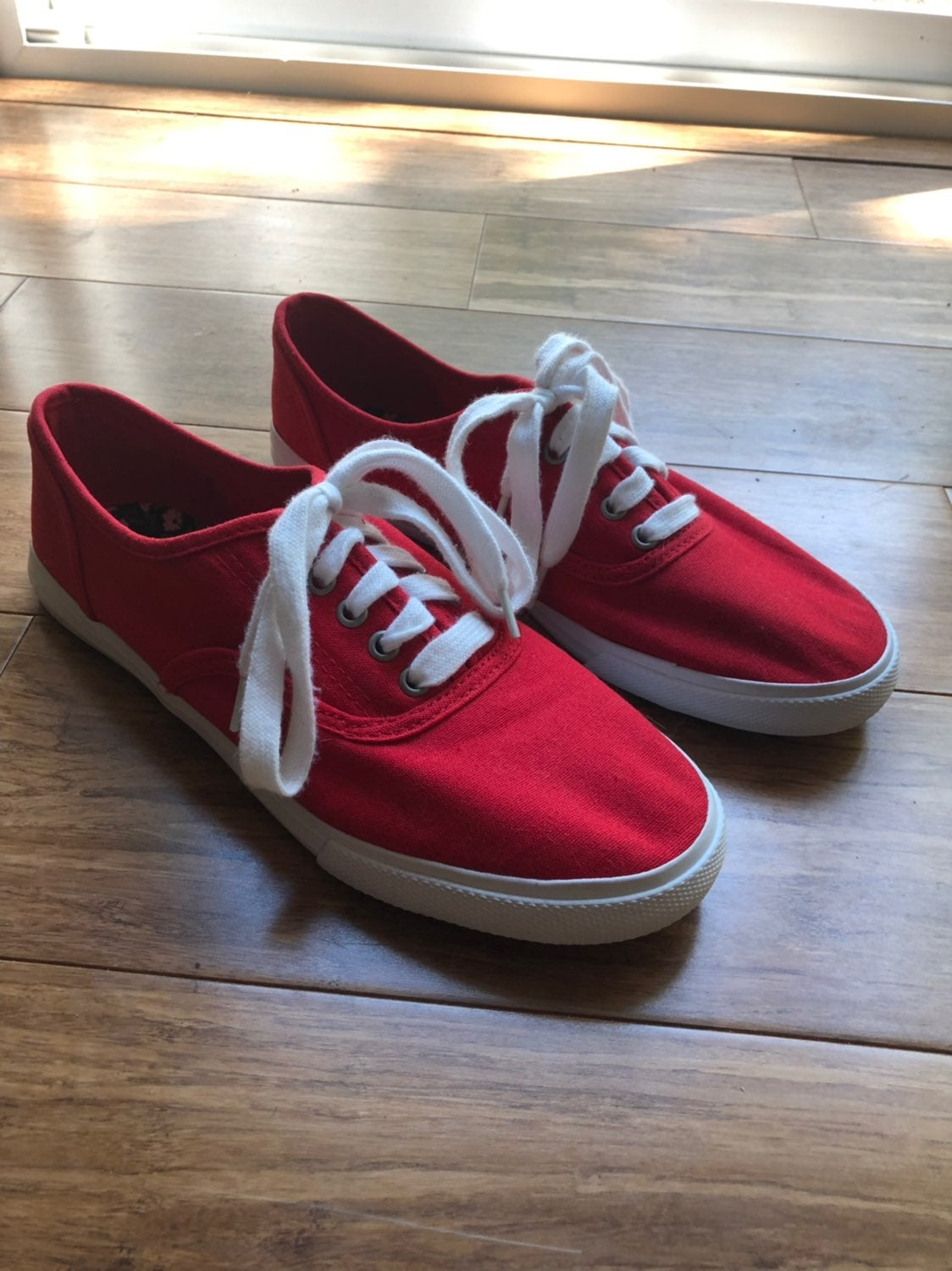 Red Mossimo Tennis Shoes