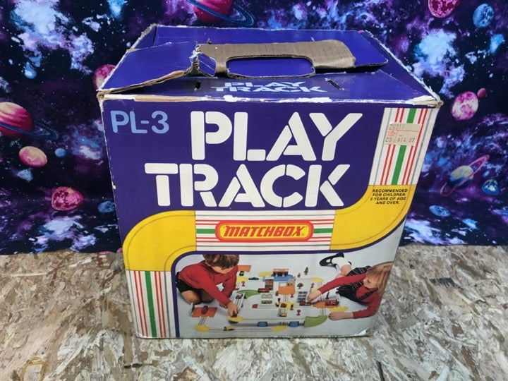 Matchbox Play Track Vintage Lesney 1980