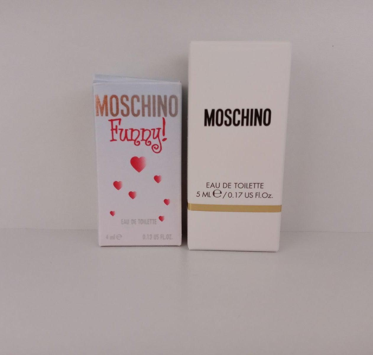 Bundle 2 x Moschino mini. Funny & Fresh