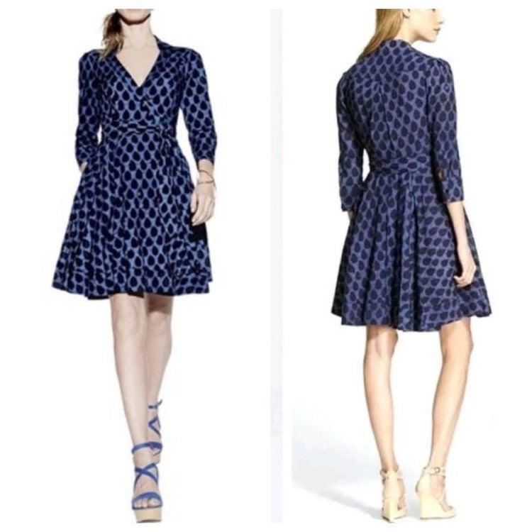 Diane Von Furstenberg Jadrian wrap dress