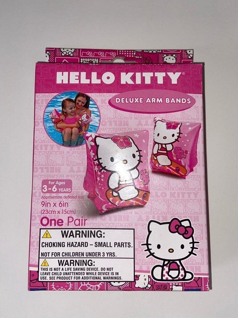 Hello Kitty Arm Band Floats Pool Swim