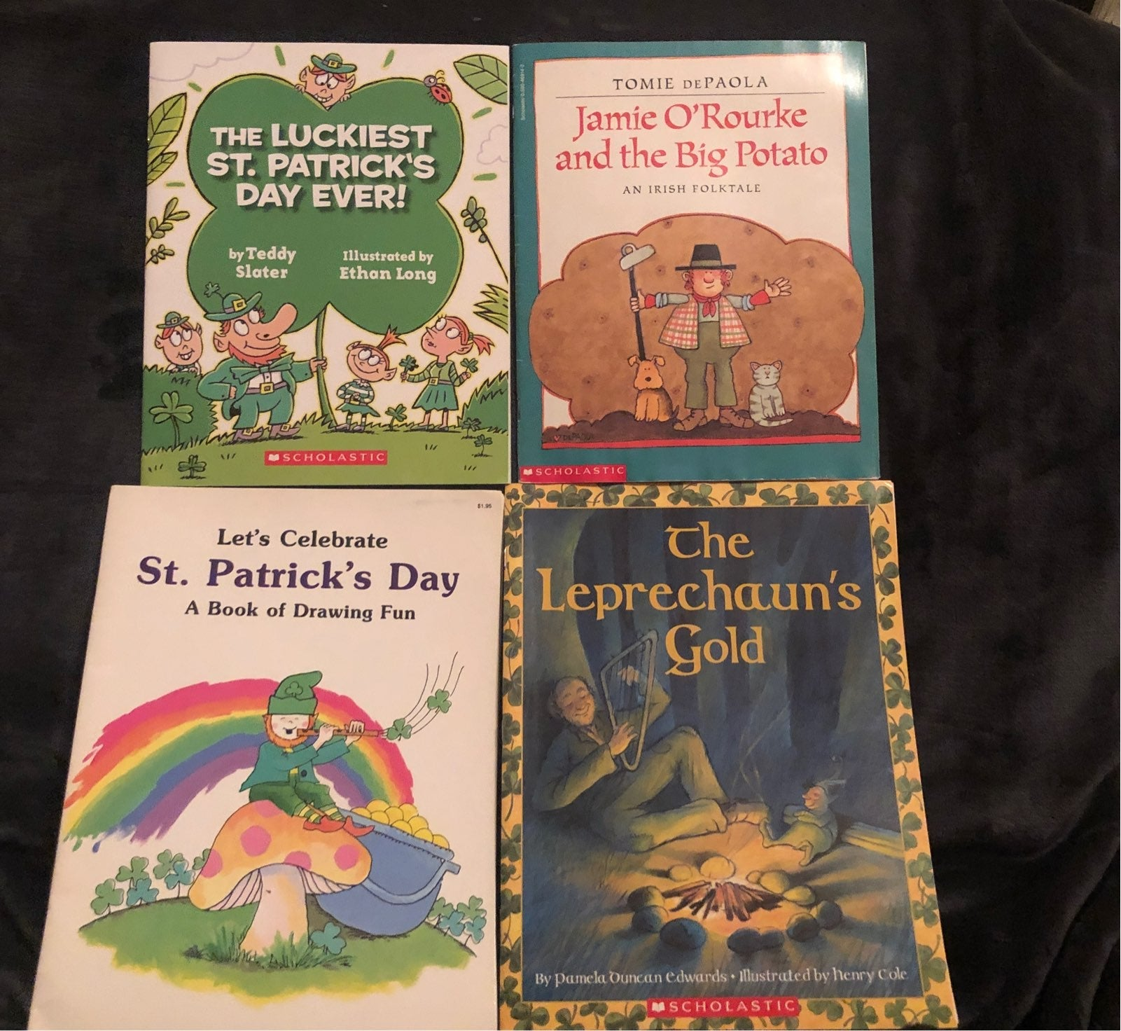 St. Patrick's Day books (lot of 4)