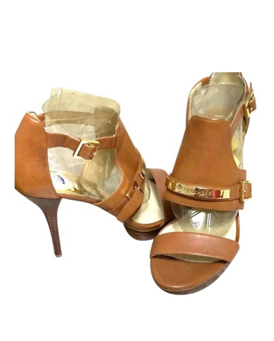 Michael Kors Luggage Signature Heels