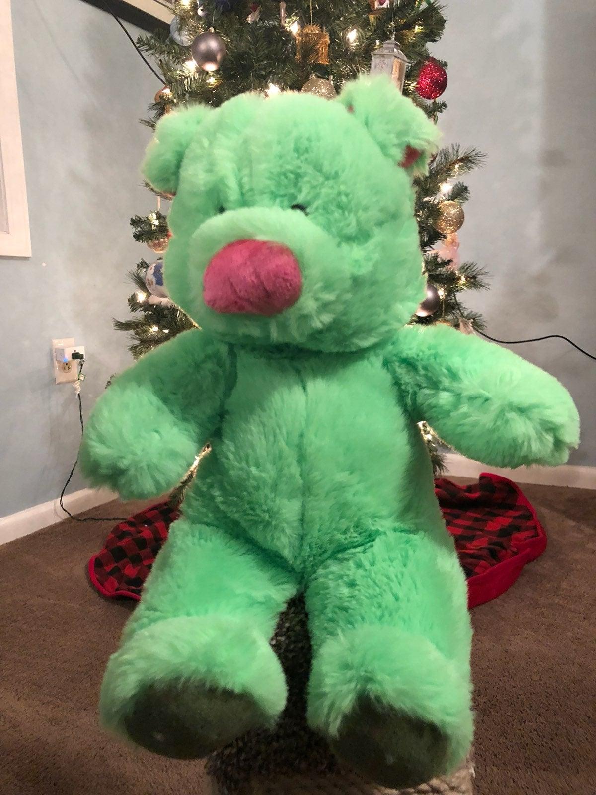 Green Pig Plush