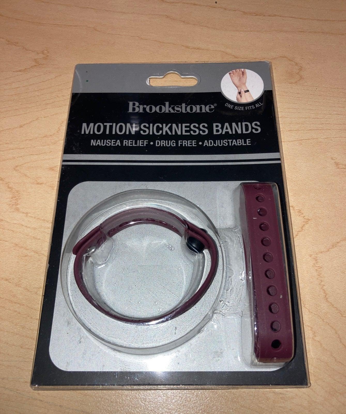 Brookstone Motion Sickness Bands